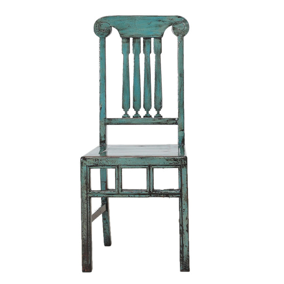 Vintage Chinese Pine Chair from Beijing