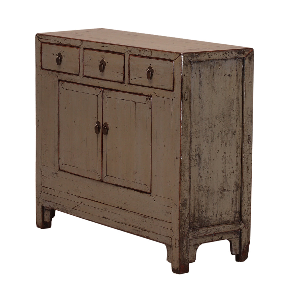 Grey Vintage Cabinet from Shandong