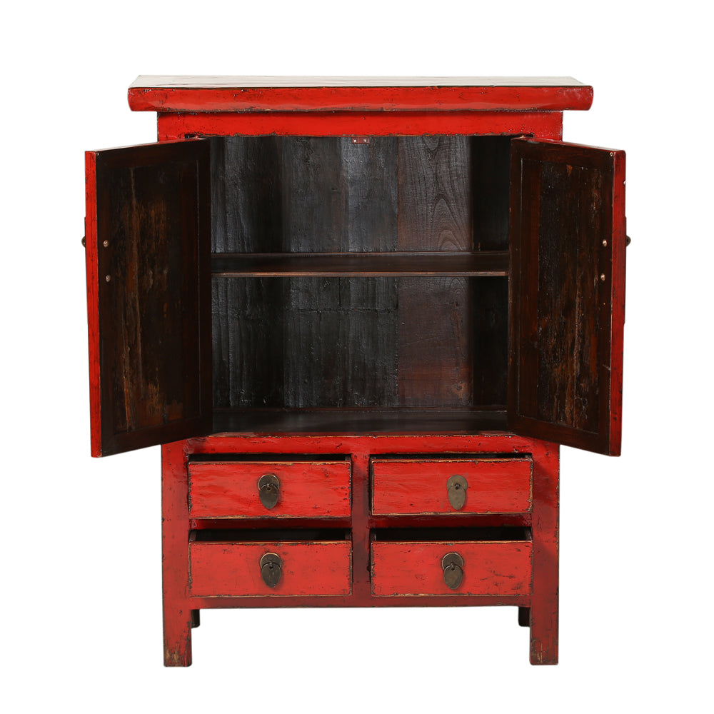 Vintage Chinese Elm Cabinet from Shandong - Chinese homewares- Rouge Shop antique stores London - city furniture