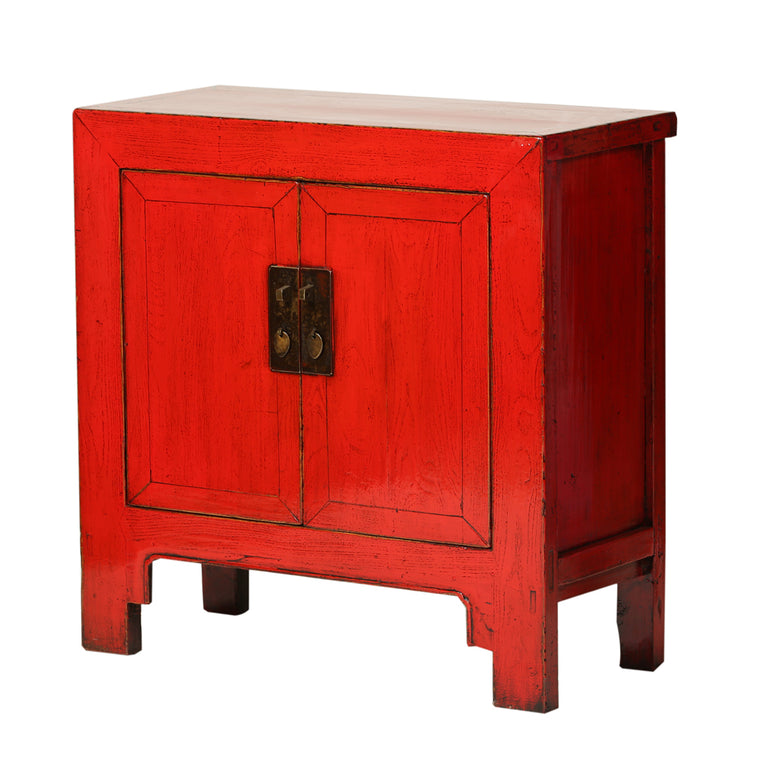 Vintage Chinese Medium Cabinet from Shandong - Chinese homewares- Rouge Shop antique stores London - city furniture