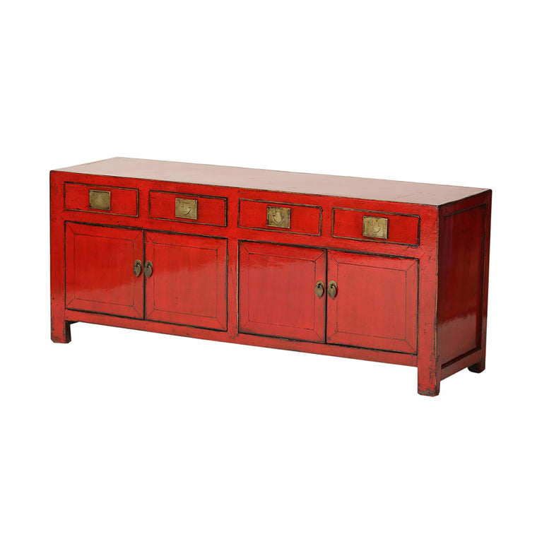 Low Vintage Chinese Sideboard from Shandong