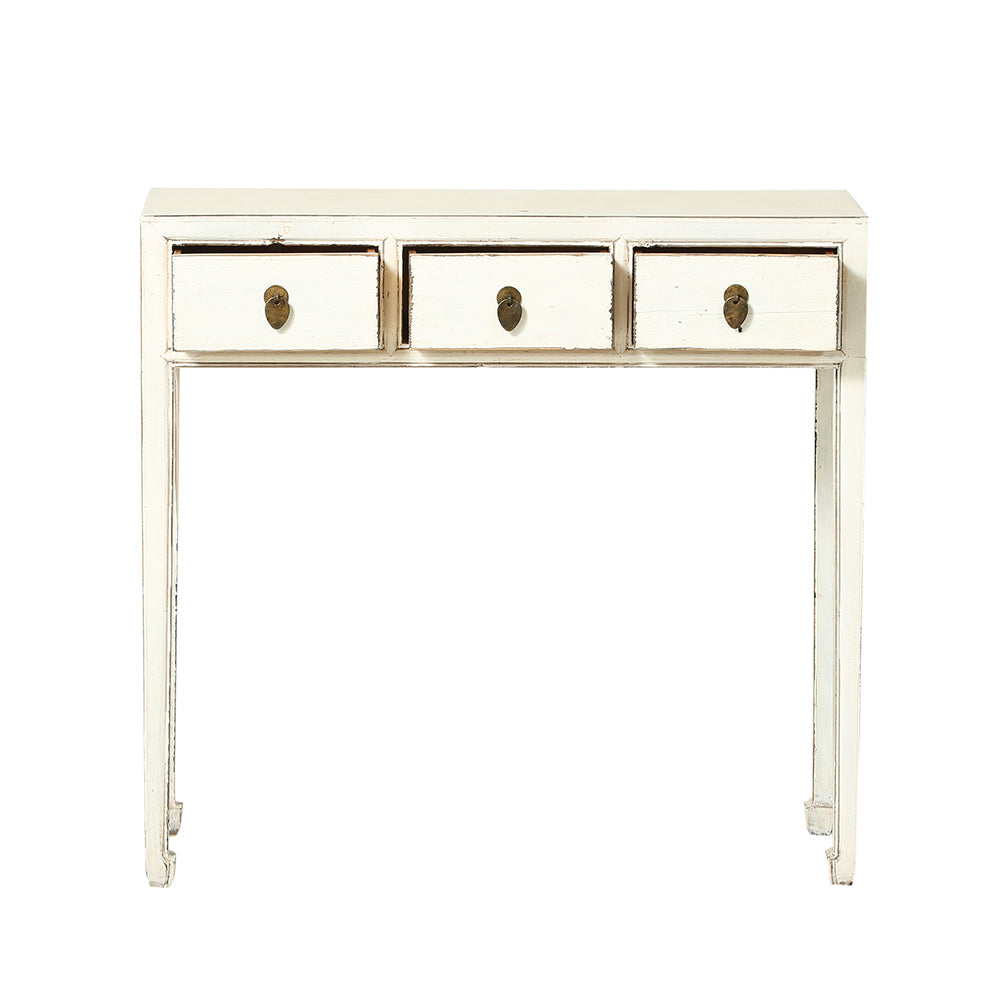 Chinese Console Table in White - Chinese homewares- Rouge Shop antique stores London - city furniture