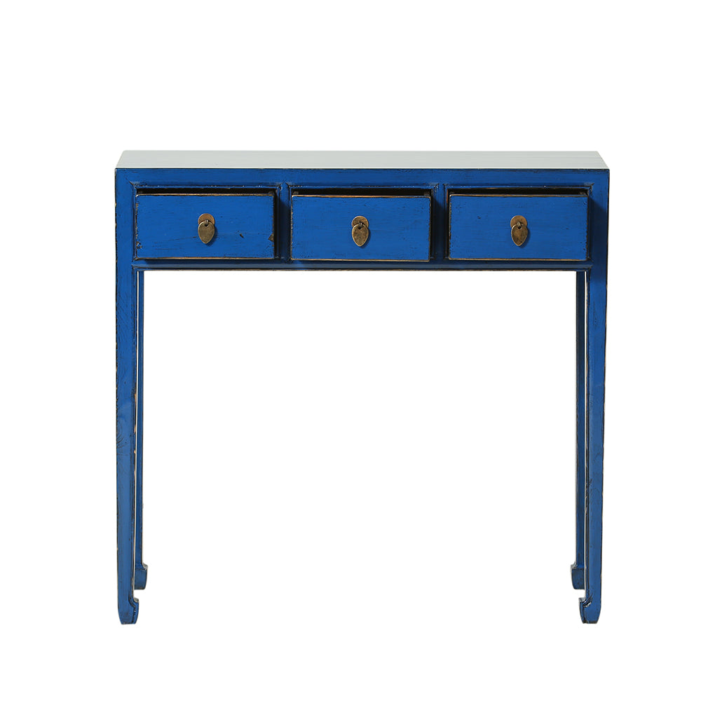 Chinese Console Table in Blue - Chinese homewares- Rouge Shop antique stores London - city furniture