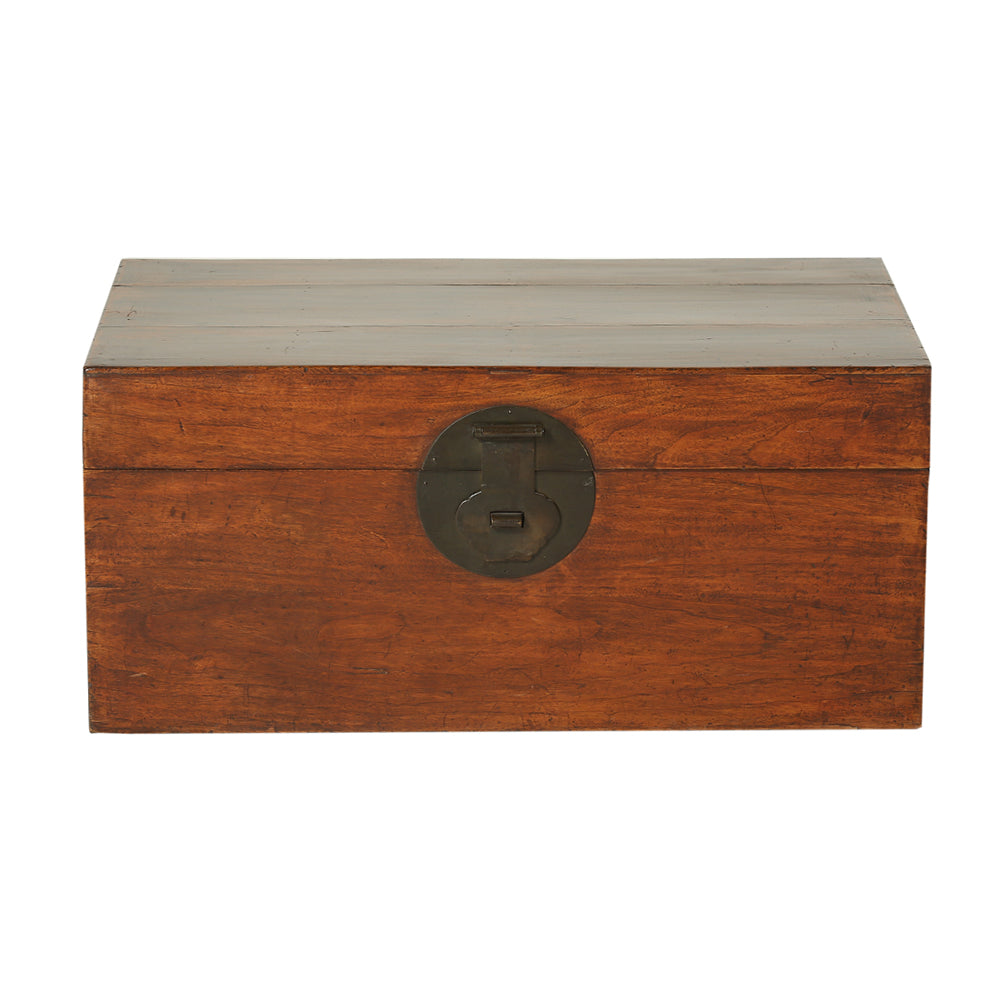 Vintage Camphor Wood Chinese Chest from Beijing