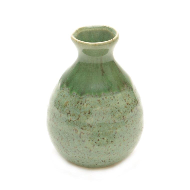 Green Nagashi Japanese Sake Jug - Chinese homewares- Rouge Shop antique stores London - city furniture