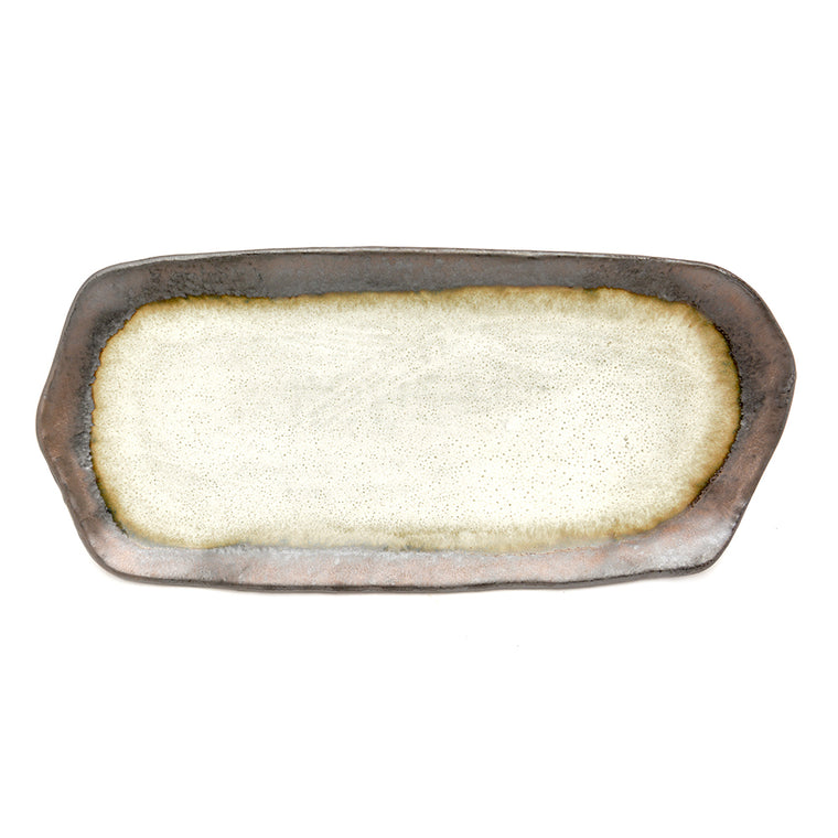 Oyster Glaze Oblong Platter - Chinese homewares- Rouge Shop antique stores London - city furniture