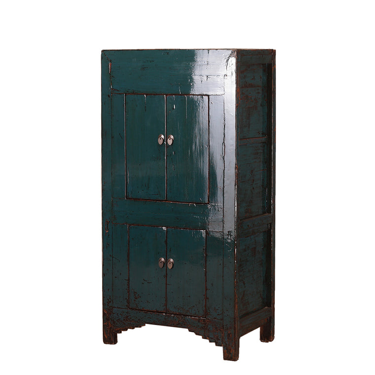 Tall Blue Cabinet from Shanxi