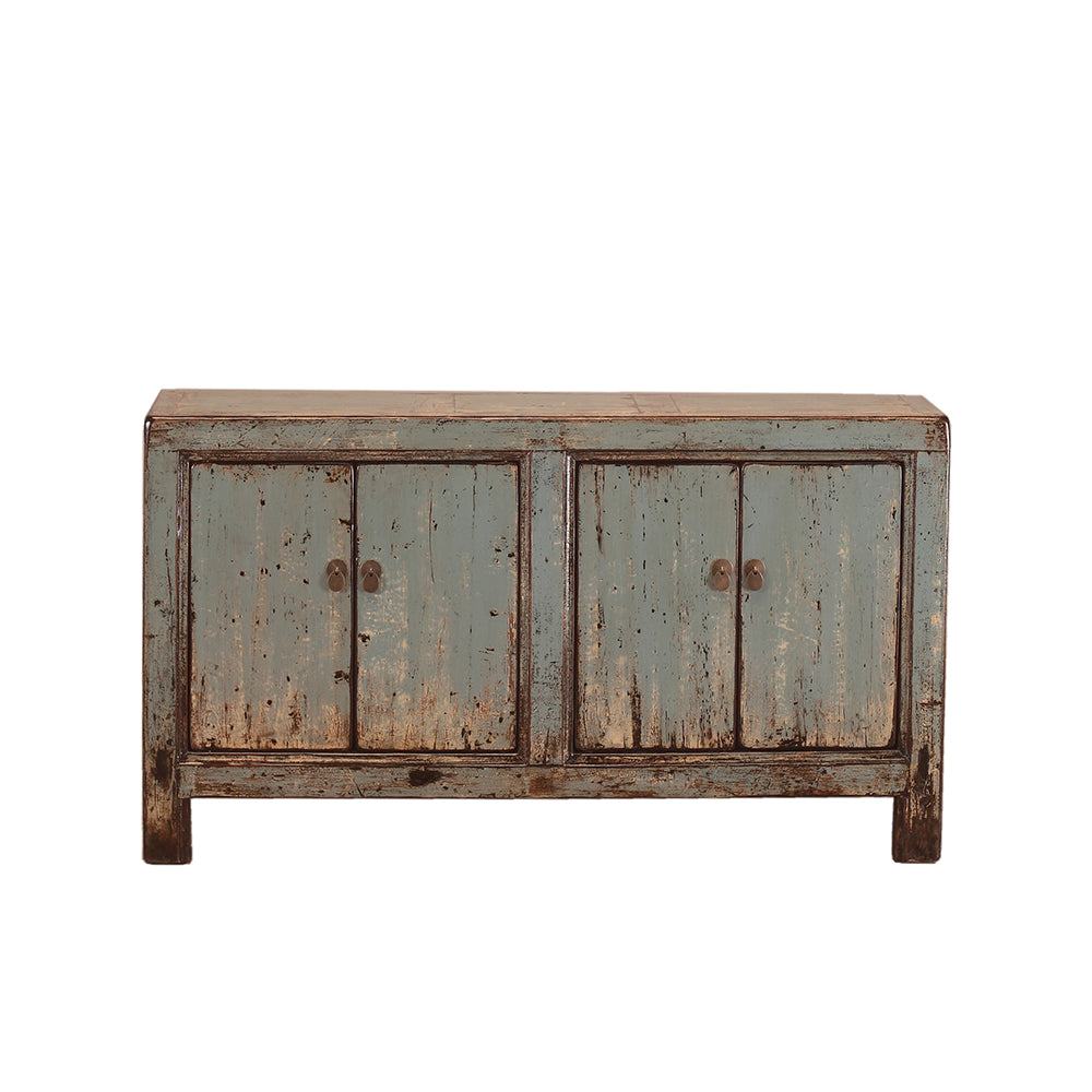 Vintage Chinese Grey Sideboard from Gansu