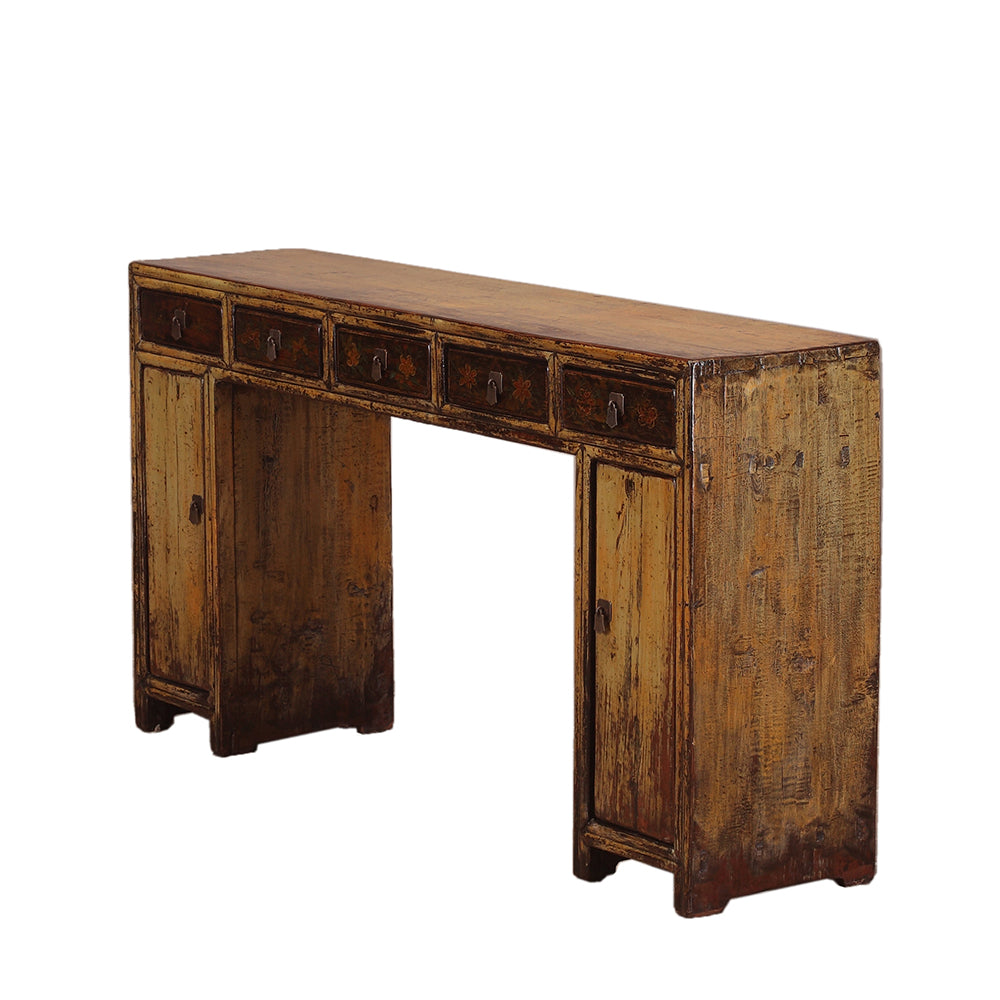 Vintage Dun Chinese Desk from Shandong