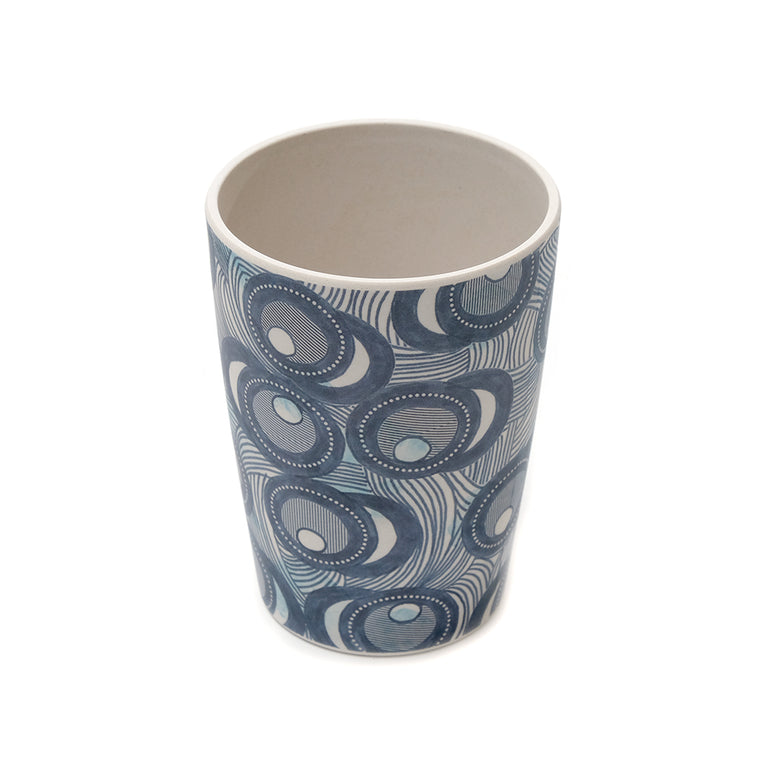 UNC Bamboo Tumbler - Fish Eye - Chinese homewares- Rouge Shop antique stores London - city furniture