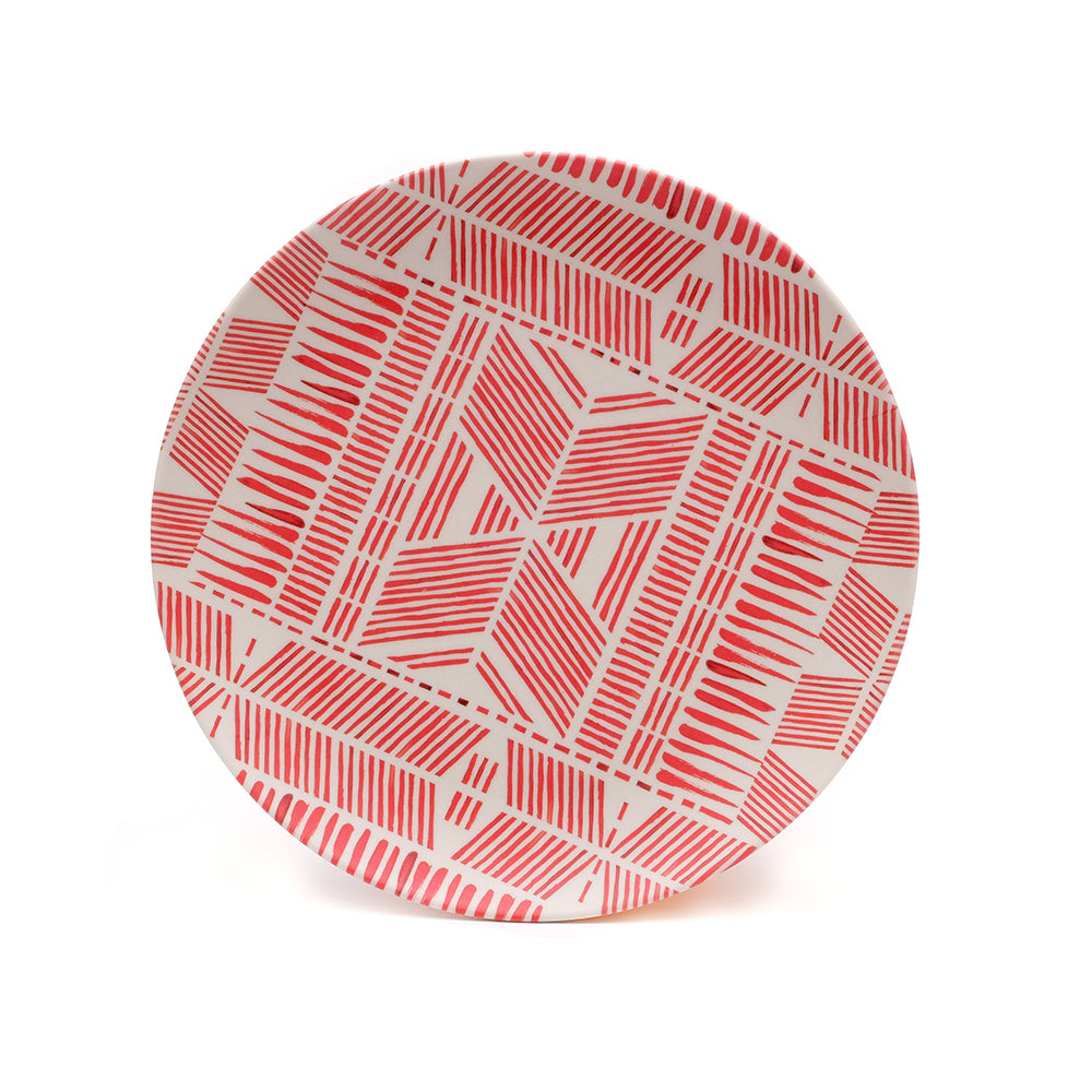 UNC Bamboo Plate - Pintura - Chinese homewares- Rouge Shop antique stores London - city furniture