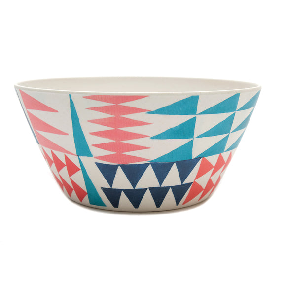 UNC Bamboo Bowl - Geometricos - Chinese homewares- Rouge Shop antique stores London - city furniture