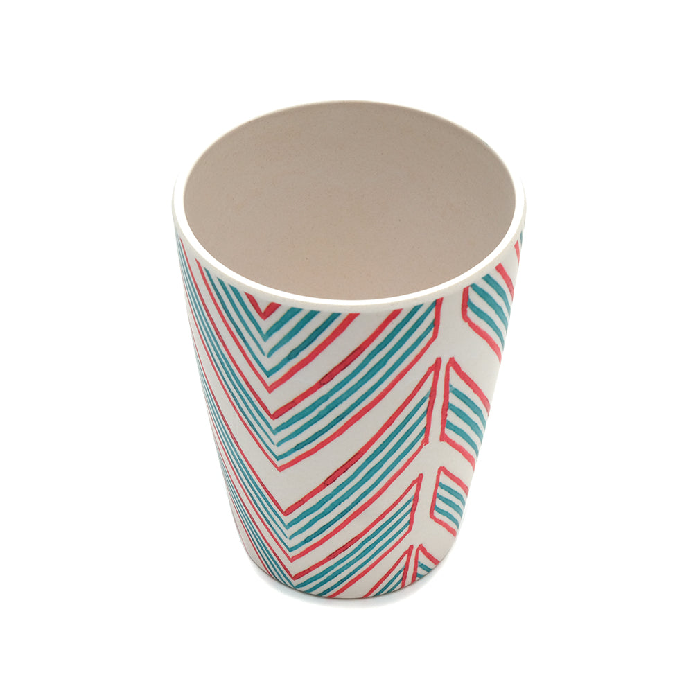 UNC Bamboo Tumbler -  Ziguezague - Chinese homewares- Rouge Shop antique stores London - city furniture