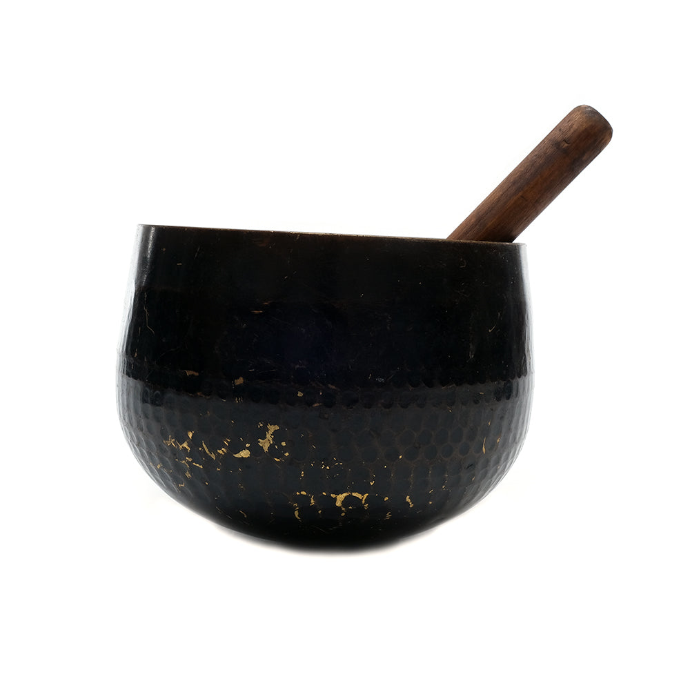 Tibetan Hammered Brass Singing Bowl No.03 - Chinese homewares- Rouge Shop antique stores London - city furniture