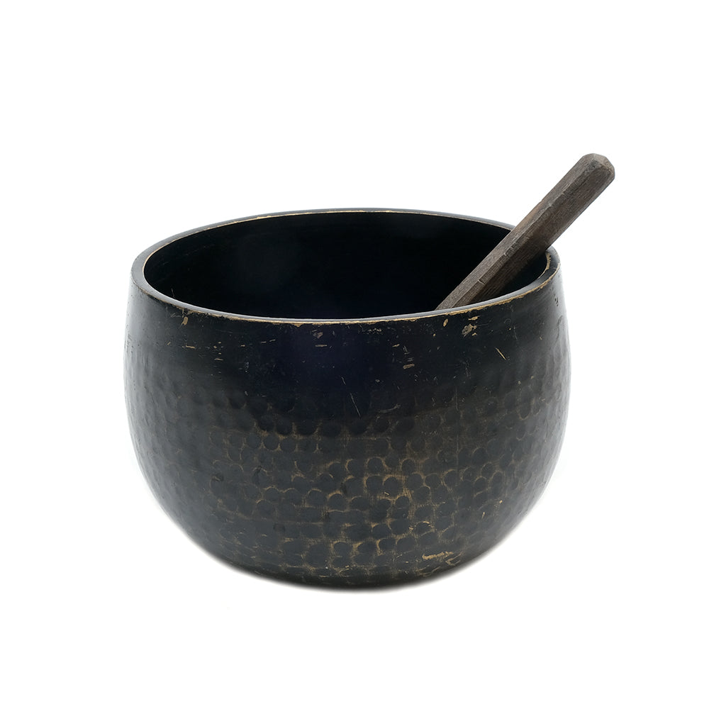 Tibetan Hammered Brass Singing Bowl No.05 - Chinese homewares- Rouge Shop antique stores London - city furniture
