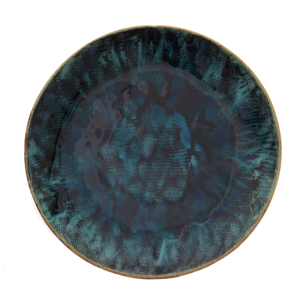 Babylon Side Plate - Pacific Blue - Chinese homewares- Rouge Shop antique stores London - city furniture