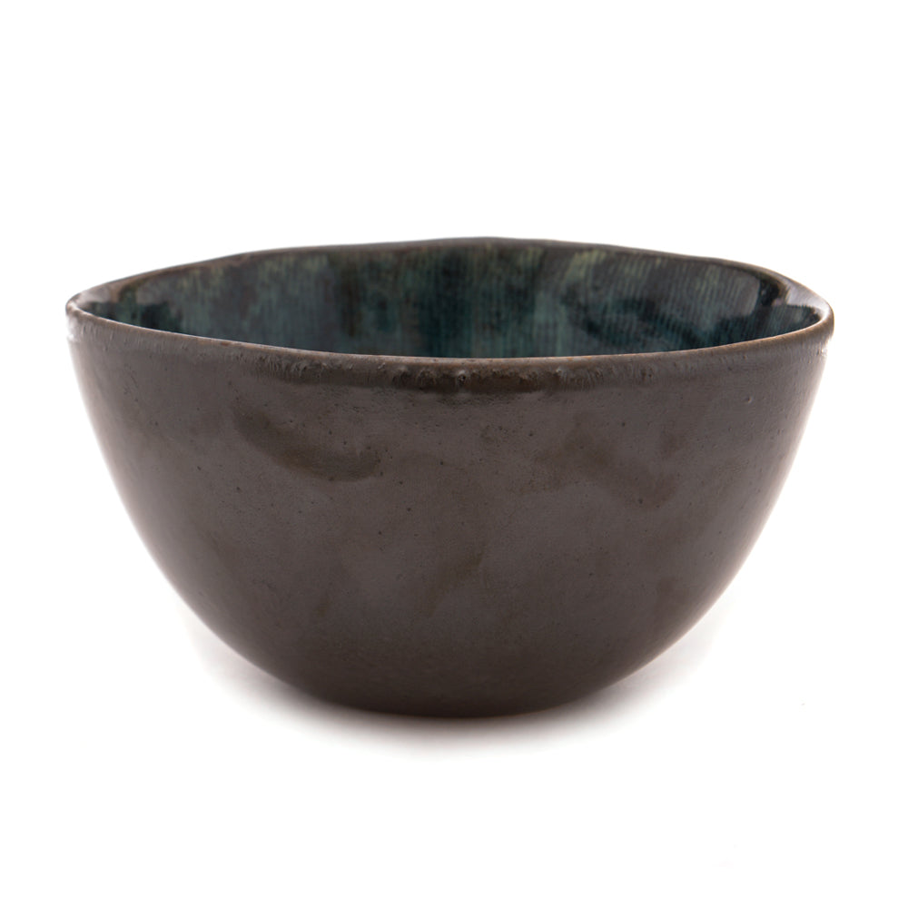 Babylon Small Deep Bowl - Pacific Blue - Chinese homewares- Rouge Shop antique stores London - city furniture