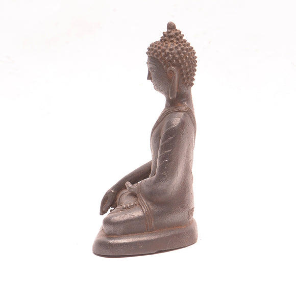 Cast Iron Seated Buddha No 1 - Chinese homewares- Rouge Shop antique stores London - city furniture