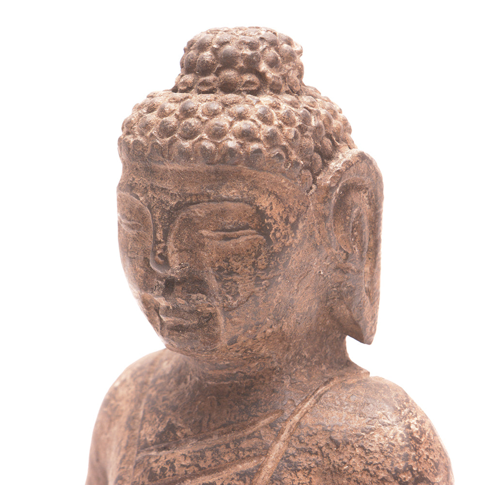 Hand Carved Stone Seated Buddha No 2 - Chinese homewares- Rouge Shop antique stores London - city furniture
