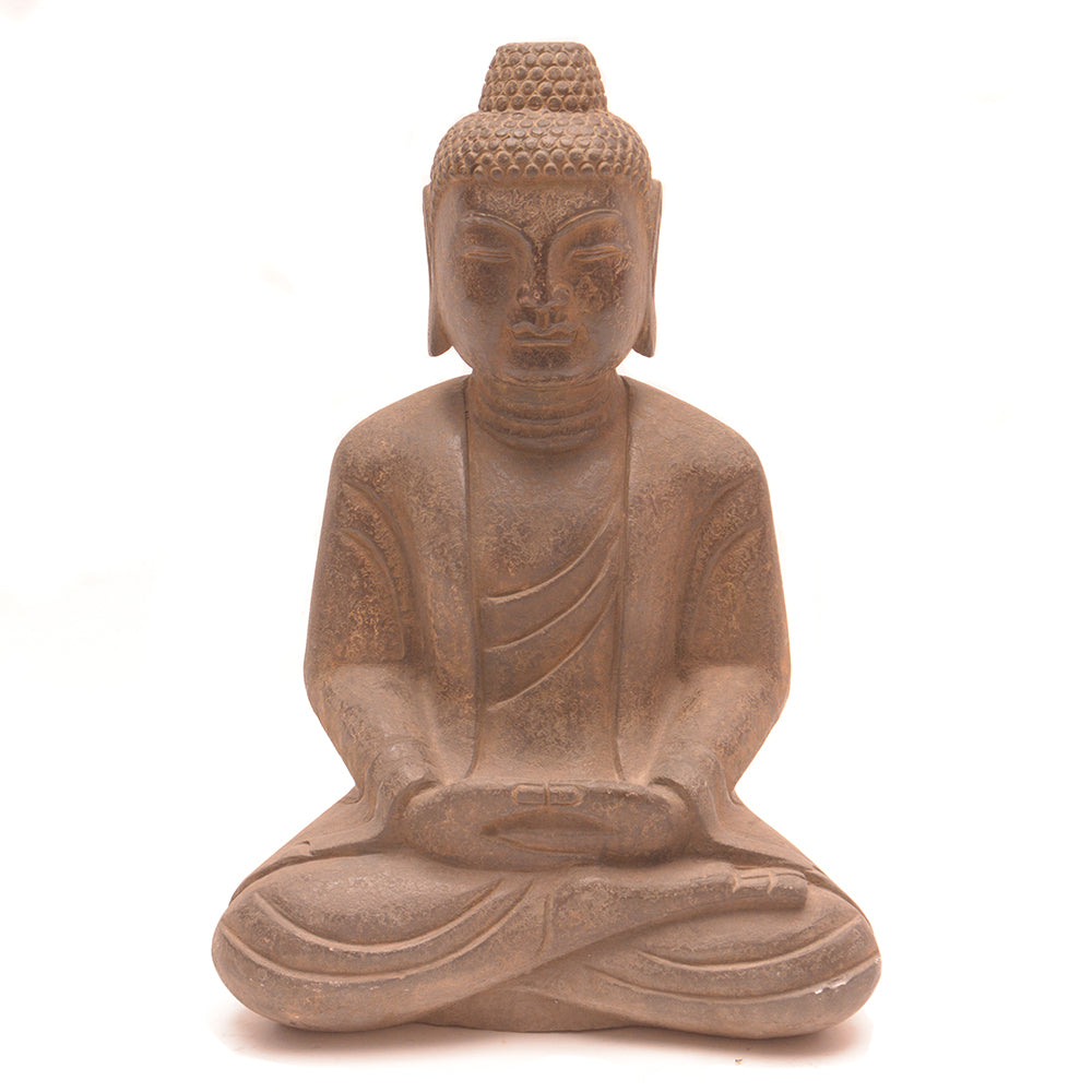Hand Carved Stone Seated Buddha No 3 - Chinese homewares- Rouge Shop antique stores London - city furniture