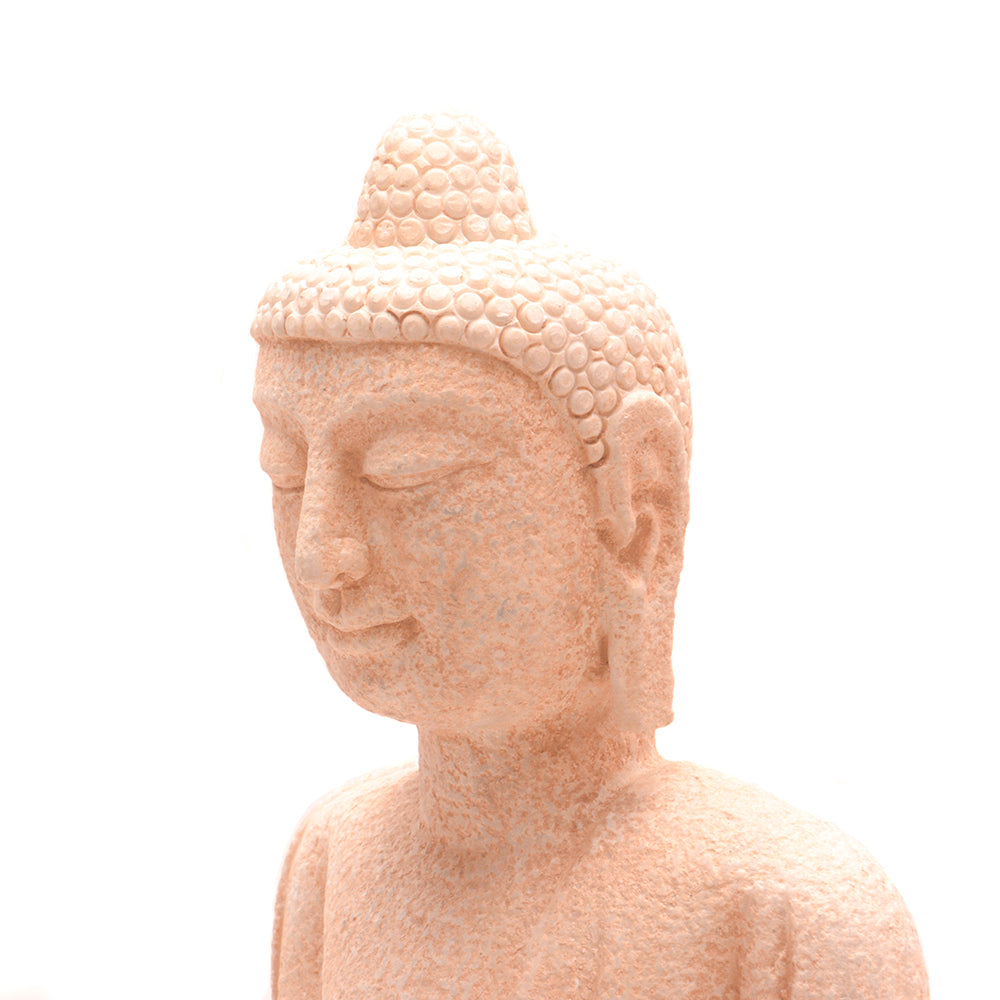 Hand Carved Stone Seated Buddha No 6 - Chinese homewares- Rouge Shop antique stores London - city furniture