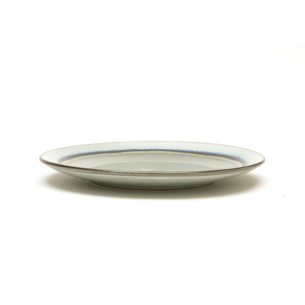 Dakara Ceramic Side Plate with Grey Crackle Glaze - Chinese homewares- Rouge Shop antique stores London - city furniture