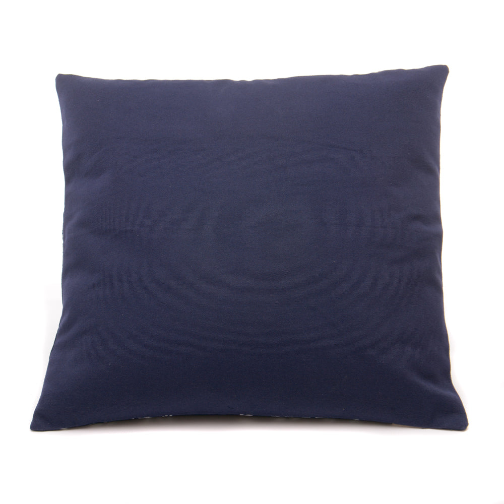 Vintage Indigo Handmade Cushion No 11 - Chinese homewares- Rouge Shop antique stores London - city furniture