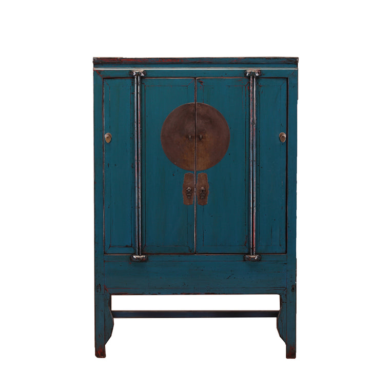 Vintage Chinese Wedding Cabinet from Jiangsu - Chinese homewares- Rouge Shop antique stores London - city furniture