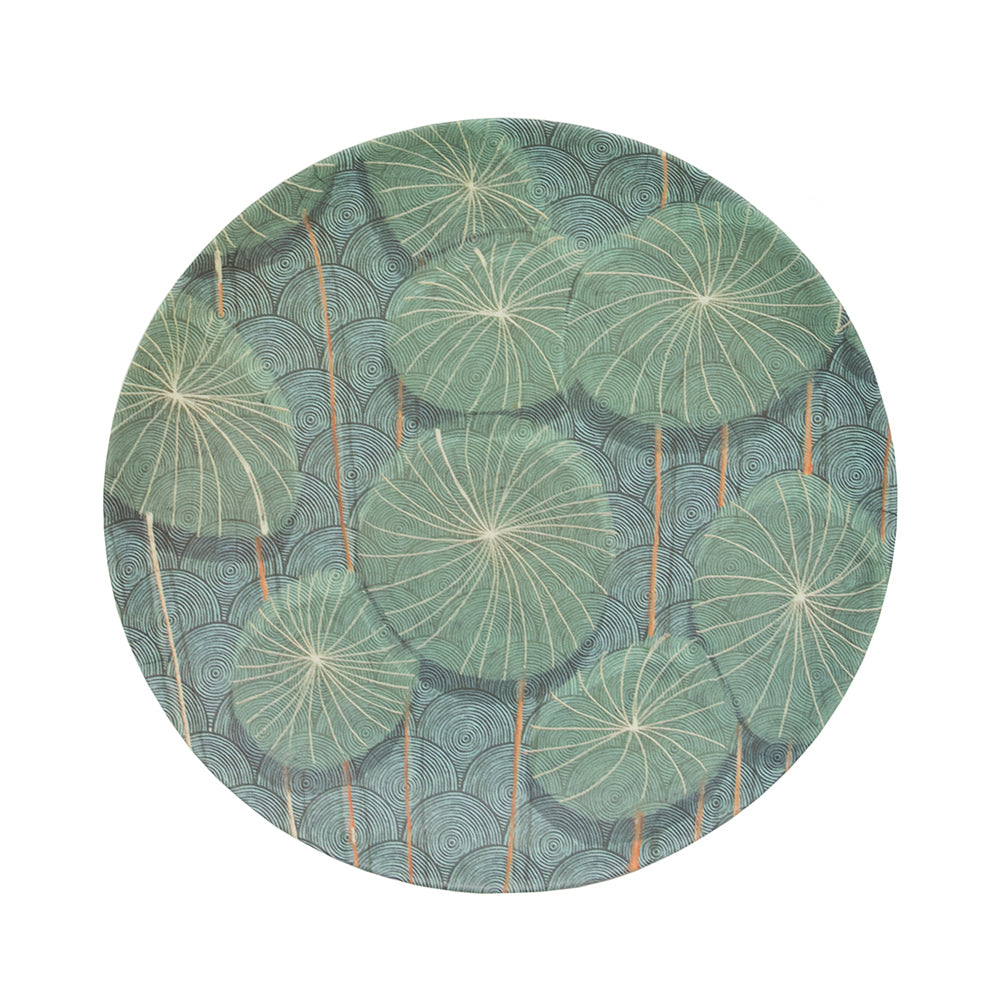 UNC Bamboo Plate - Nymphaea