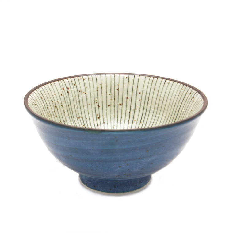 Tokusa Glaze Rice Bowl