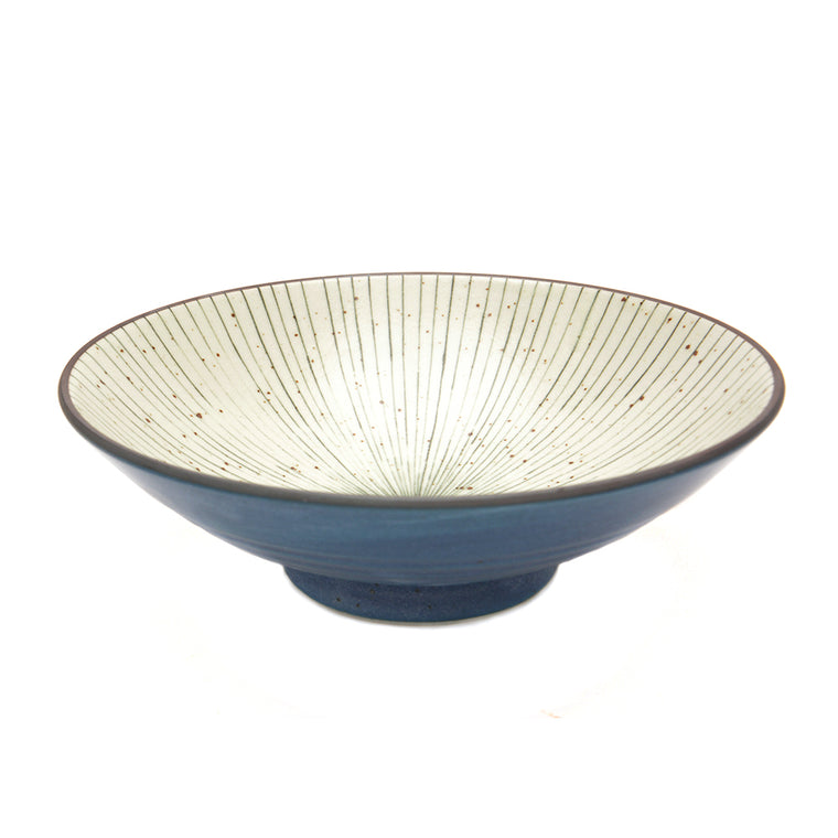 Tokusa Glaze Serving Bowl