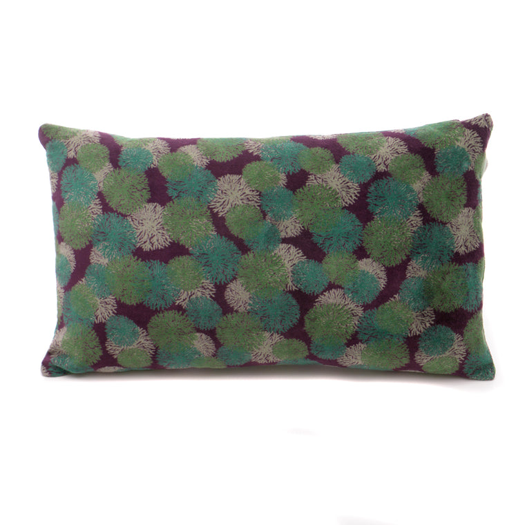 Cotton Velvet Cushion - Reef Fig - Chinese homewares- Rouge Shop antique stores London - city furniture