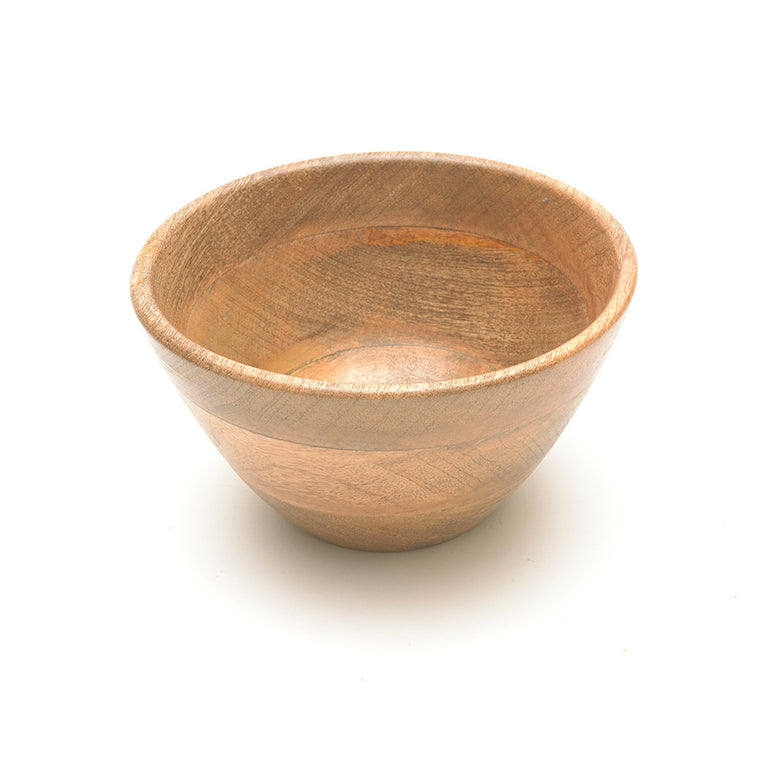 Mango Wood Indus Small Salad Bowl from Nkuku