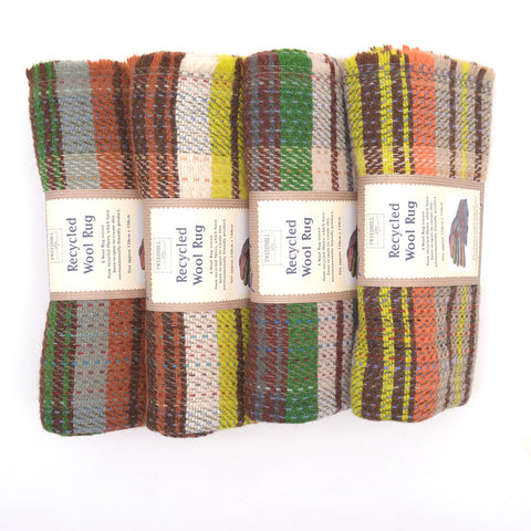 Tweedmill Random Recycled rugs rolled