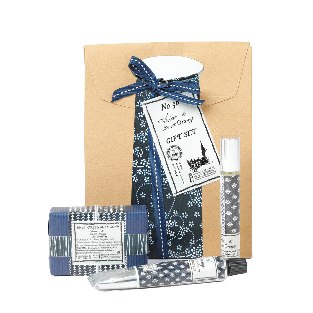 Essential Gift Set - Vetiver and Sweet Orange