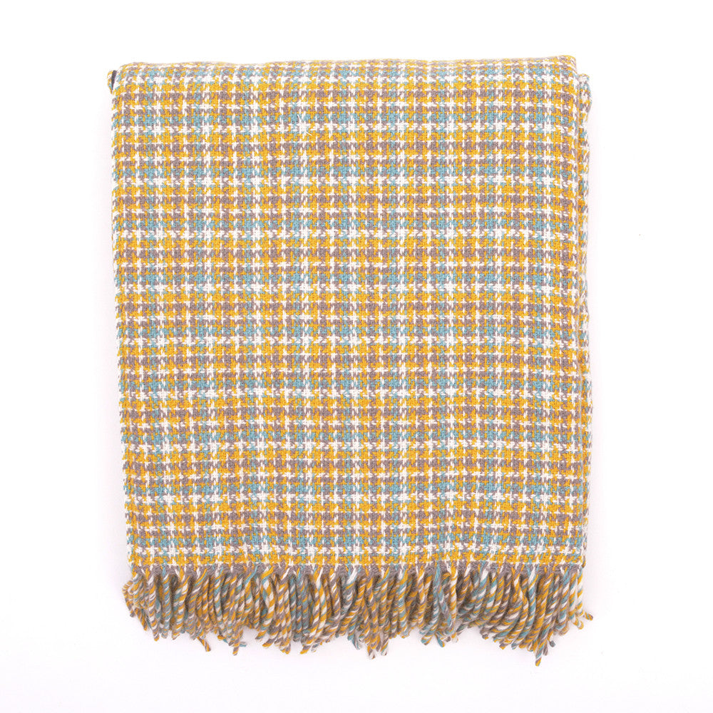 Tweedmill All Wool Picnic Blanket Wilderness folded