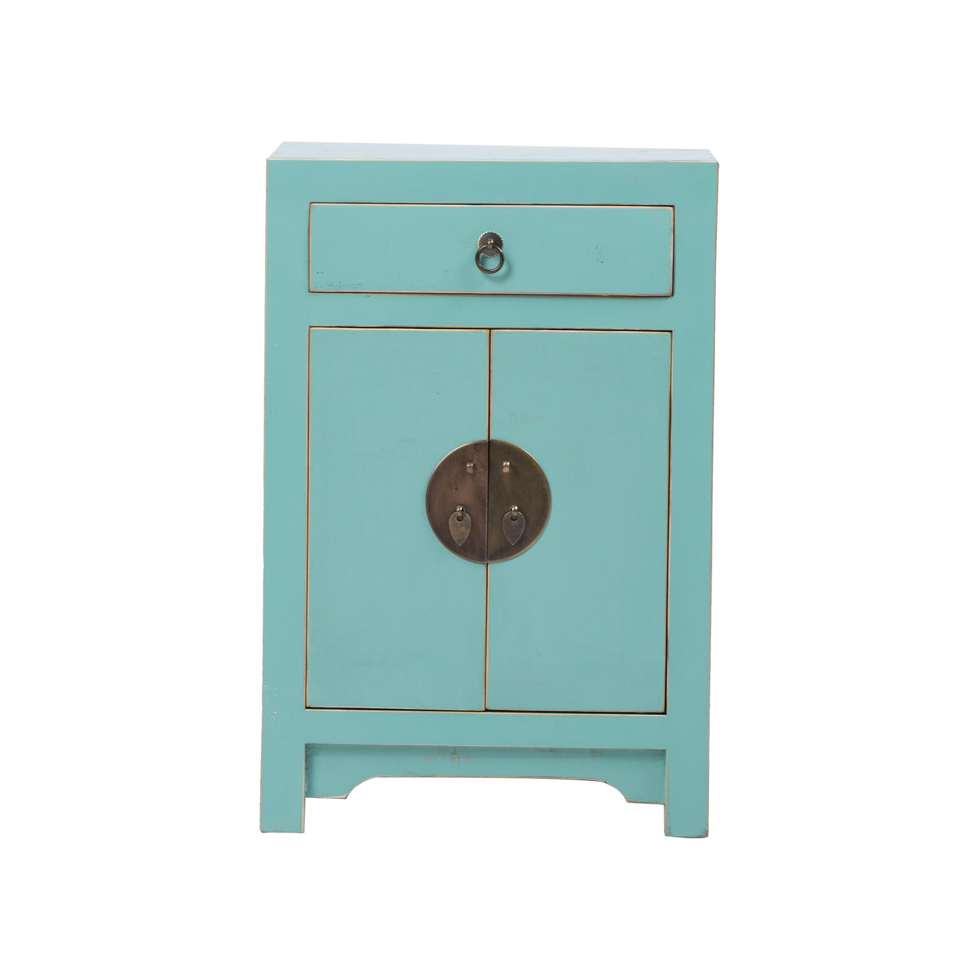 Chinese Bedside Cabinet ShanDong Style front view