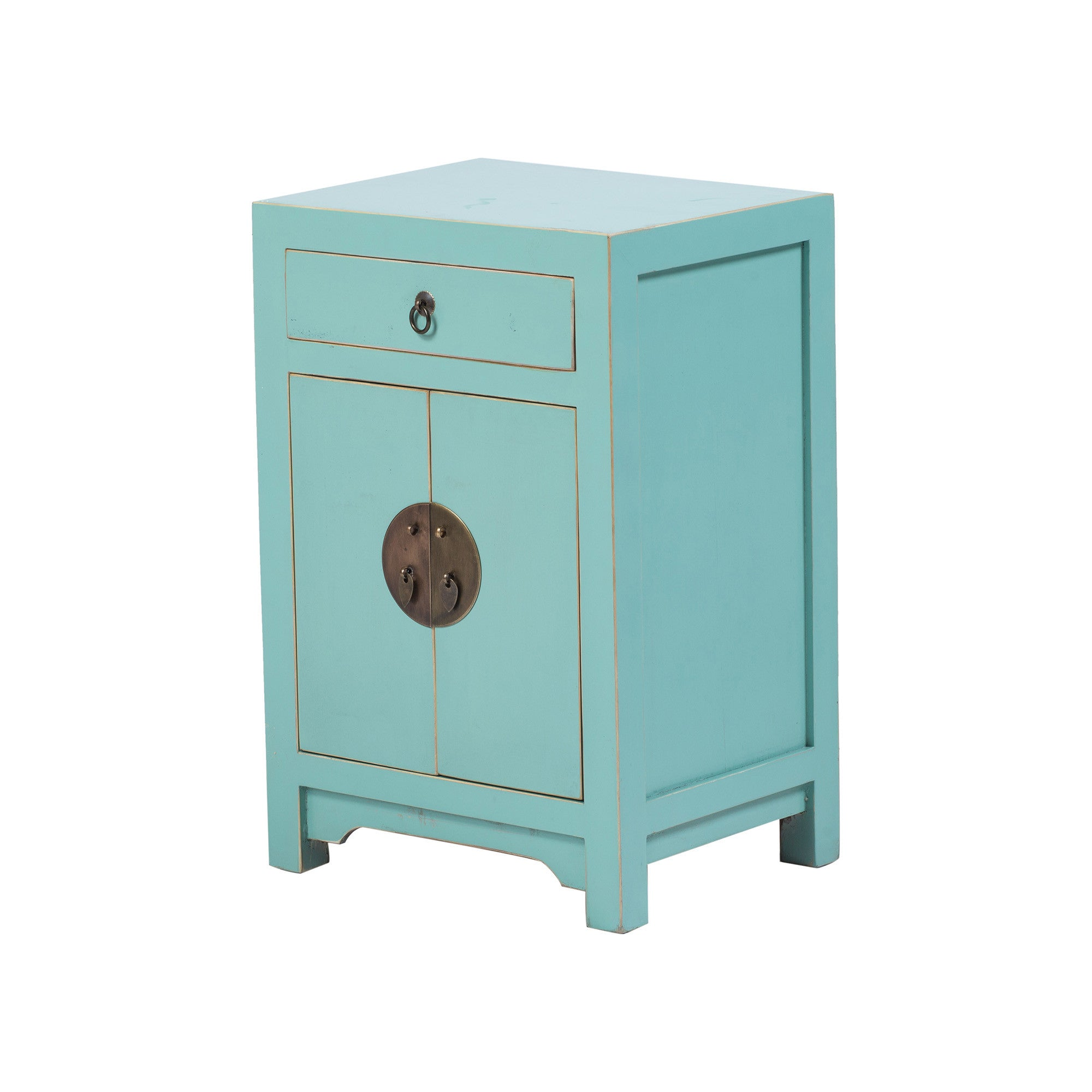 Chinese Bedside Cabinet ShanDong Style