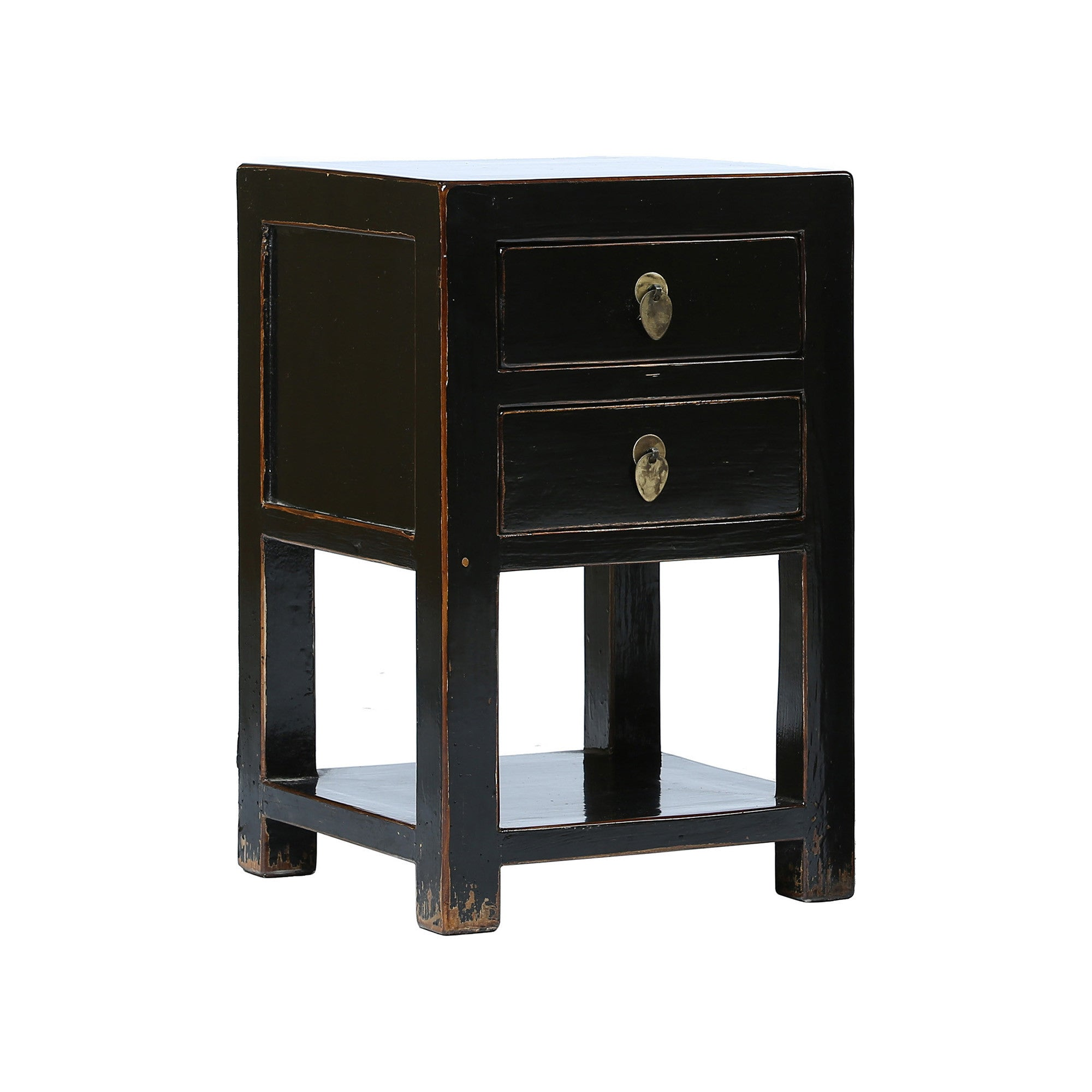 Black Chinese Bedside Table - Chinese homewares- Rouge Shop antique stores London - city furniture