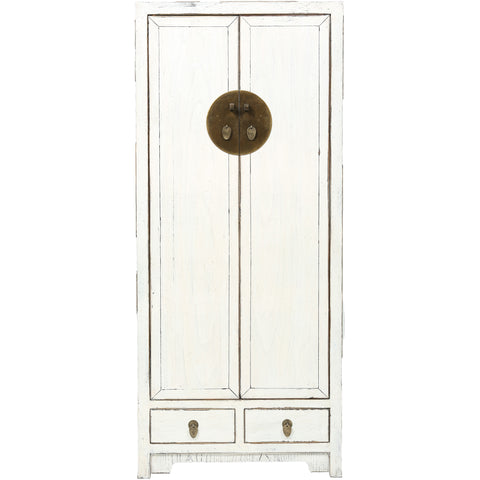 ROUGE Contemporary Tall White Cabinet