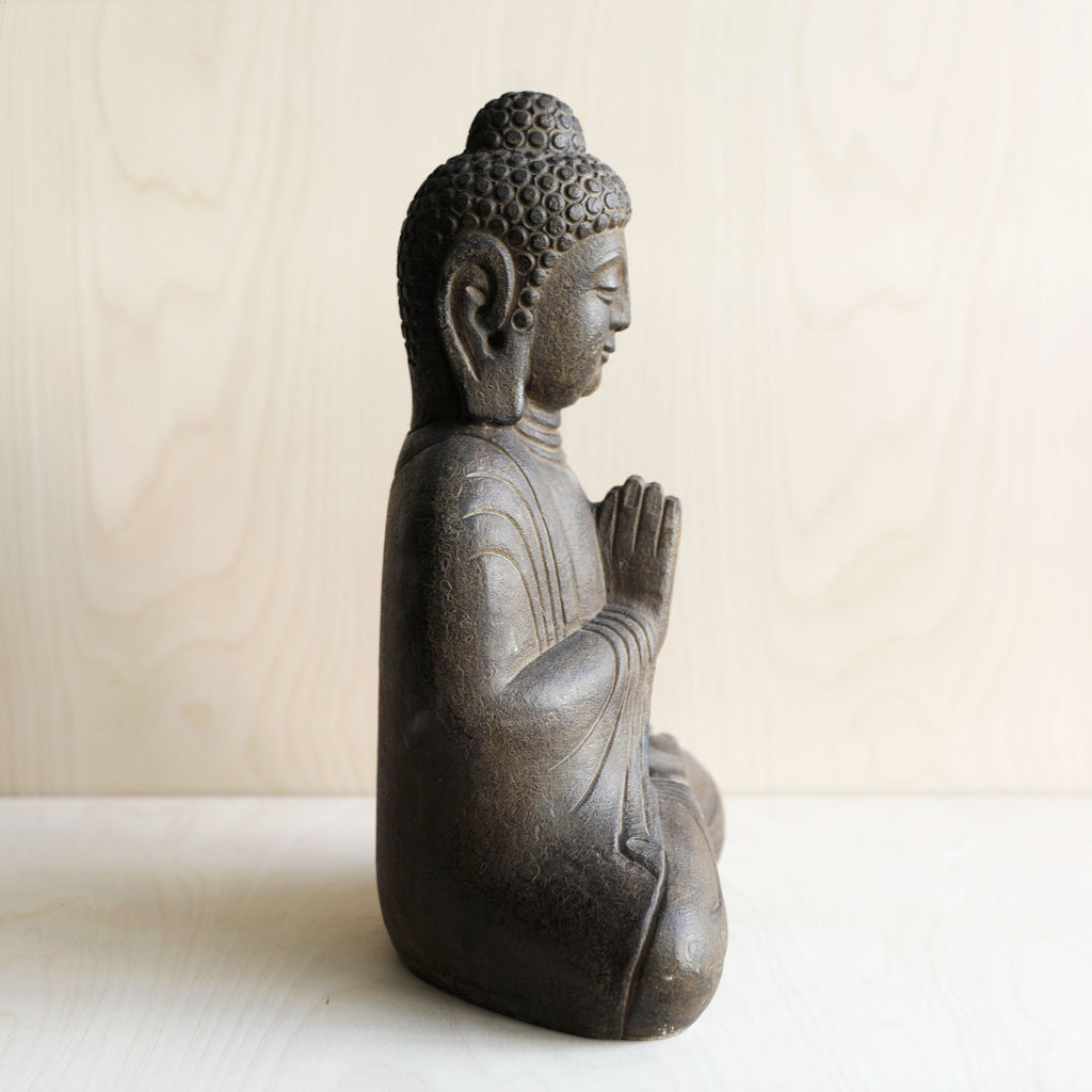 Hand Carved Stone Seated Buddha No.8