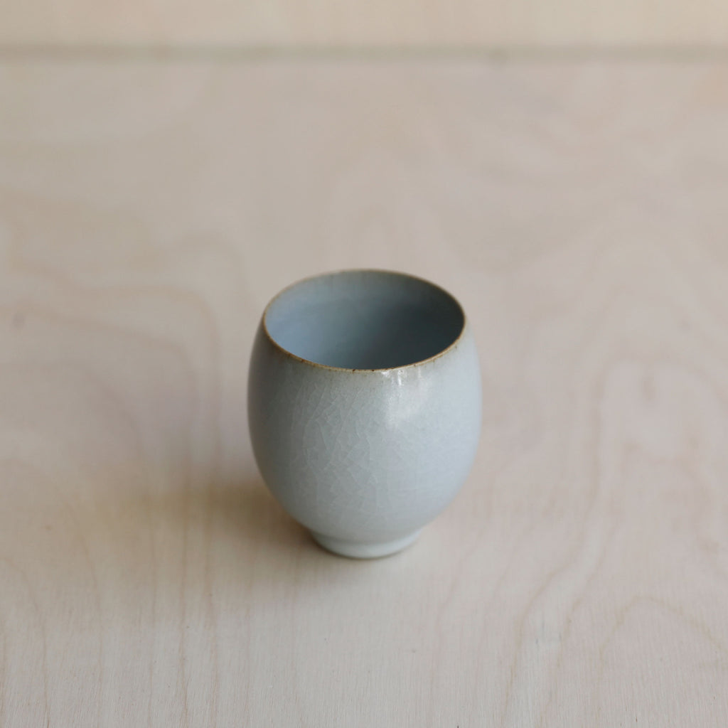 Egg Shape Tea Cup