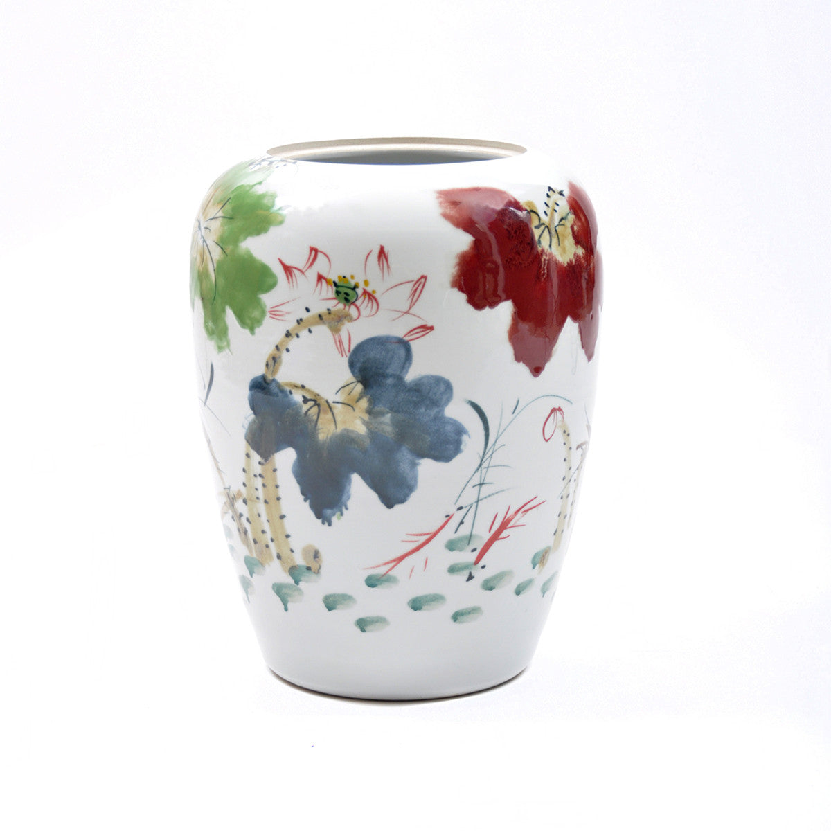 Handpainted Chinese Ceramic Vase