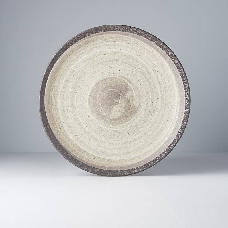 Ninrin Earth Large Dinner Plate