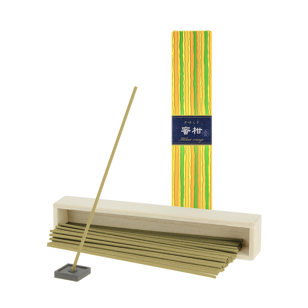Kayuragi Incense Sticks - Mikan Orange
