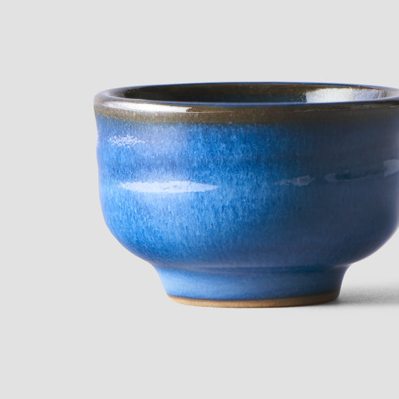 Bright Blue Sake Cup