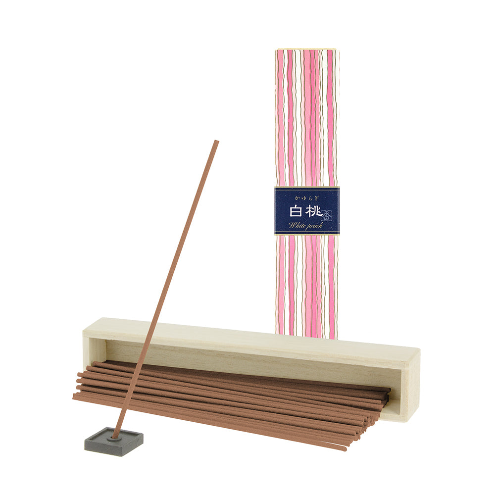 Kayuragi Incense Sticks - White Peach