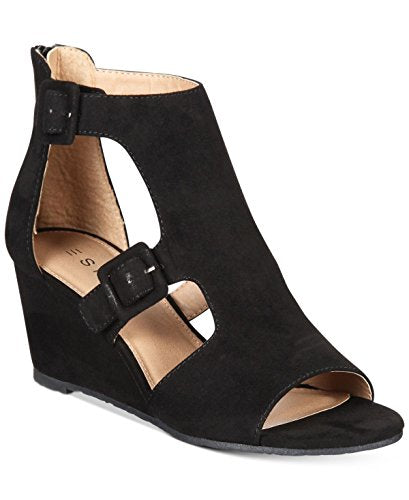 Esprit Angel Wedge Sandals Black 6M
