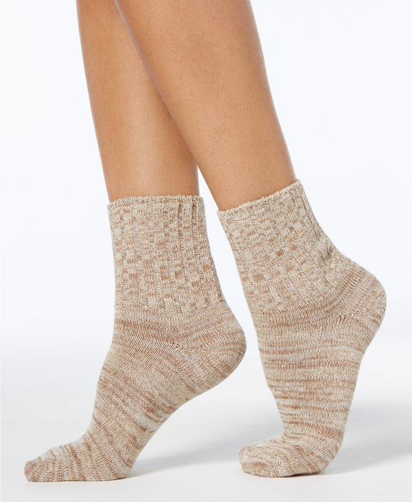 Hue - Spacedye Shortie Boot Sock - Regular - 9-11