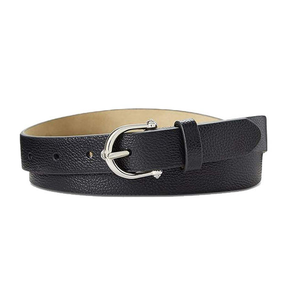 INC International Concepts -Knob Buckle Pant Belt-Regular-S